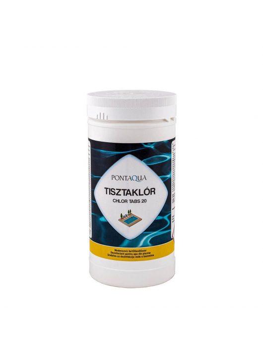 Pontaqua Tisztaklór 20gr-os tabletta 1kg