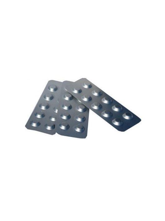 Pótreagens Indikátor tabletta DPD1 5113 szabad klór mérő 10db/levél