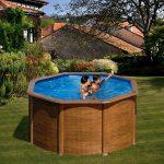 Family Eco Lux Wood medence kerek 2,4x1,2m fólia 0,3mm