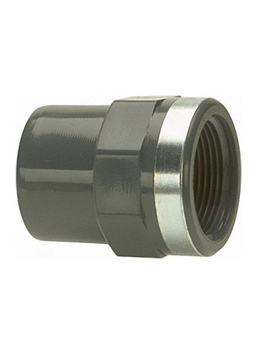 PVC Karmantyú BM 11/2 KB D50mm fém gyűrűvel