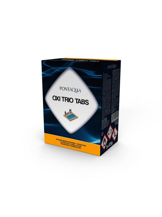 Pontaqua Oxi Trio Tabs 5x125gr 0,625kg