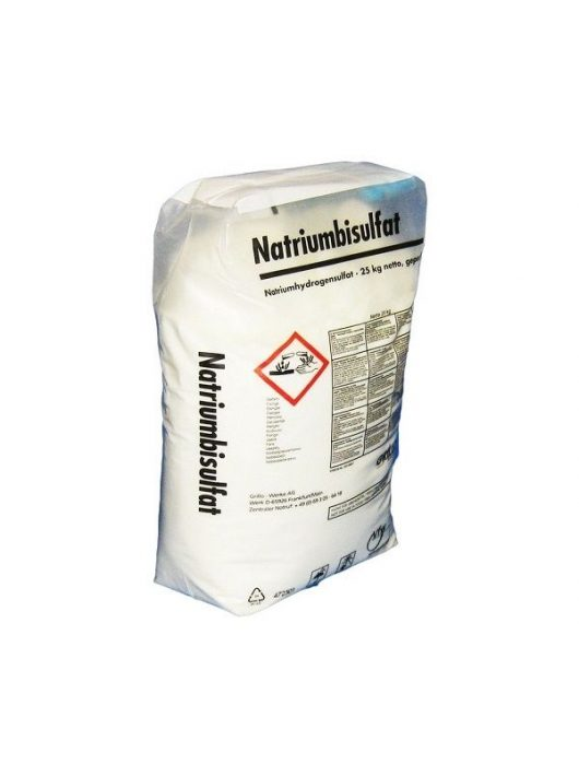 pH csökkentő granulátum 25kg