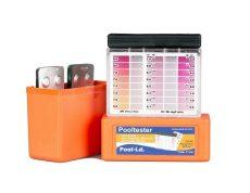 Pooltester PT100 pH+klór/bróm vízelemző készlet 30-30db tablettával