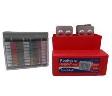 Pooltester PT500 pH+klór/bróm vízelemző készlet 20-20db tablettával