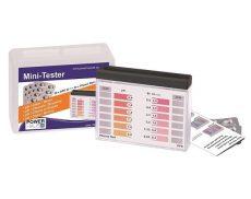 Pooltester Mini PTM100 pH+klór/bróm vízelemző készlet 20-20db tablettával