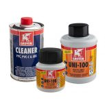 PVC glues and cleaners